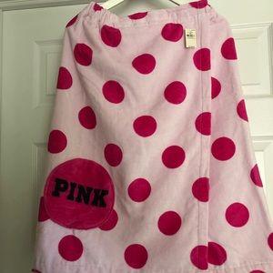 NWT PINK Towel